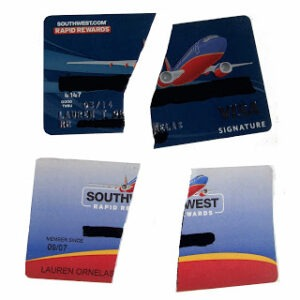 Cut Up Southwest Cards