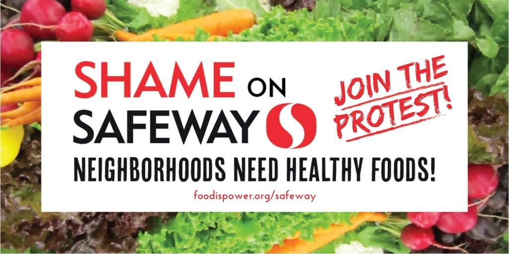 Shame On Safeway Protest!