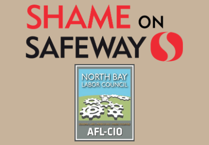 North Bay Labor Council's Letter to Albertsons