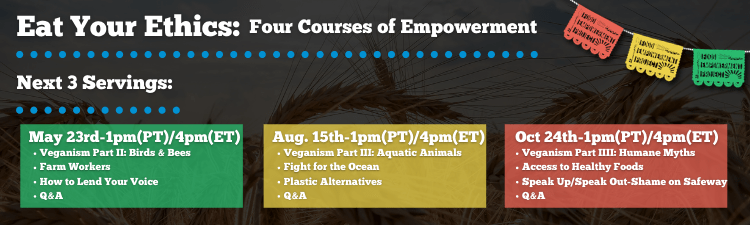 (English) Eat Your Ethics: Four Courses of Empowerment