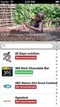 F.E.P. Chocolate App
