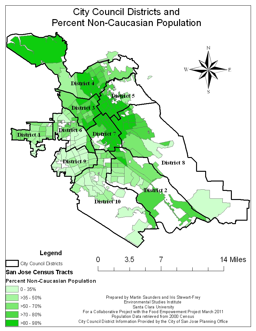 Reports: Food Availability in Santa Clara County and Focus