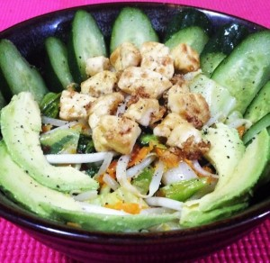 perfect salad topper